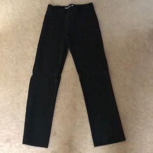 2ac4b755c46de betabrand Pants | Black Yoga With Belt Loops Size Medium | Poshmark